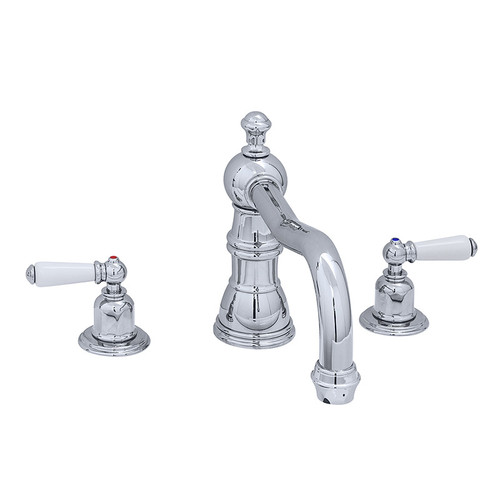 Perrin & Rowe 3755 Three Hole Mixer Set Tap, Lever Handles