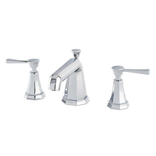 Perrin & Rowe 3141 Three Hole Basin Mixer Tap, Lever Handles