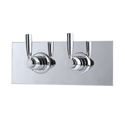 Perrin & Rowe 5368 Concealed Thermostatic Shower Valve, Lever Handles