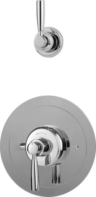 Perrin & Rowe 5875 Split Concealed Thermostatic Shower Valve, Lever Handles