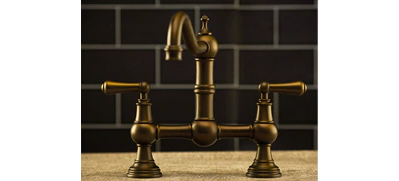 Perrin and Rowe English Bronze Tap Lifestyle Picture