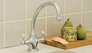 Perrin and Rowe Chrome Tap Lifestyle Picture