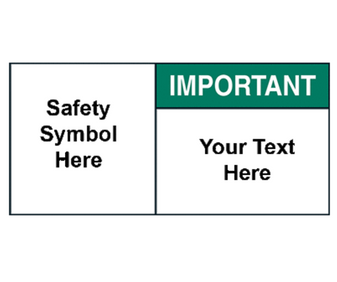 Custom Important Label with Symbol
