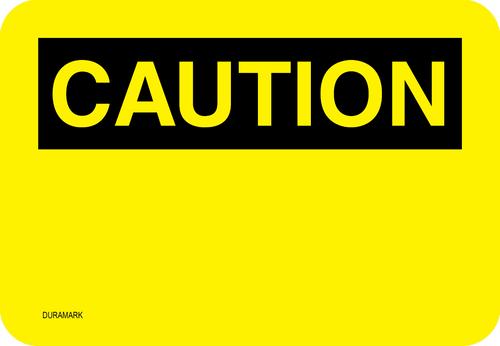 Custom OSHA Caution Label