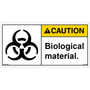 Caution - Biological Material