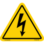 ISO safety label - Triangle - Electric Shock