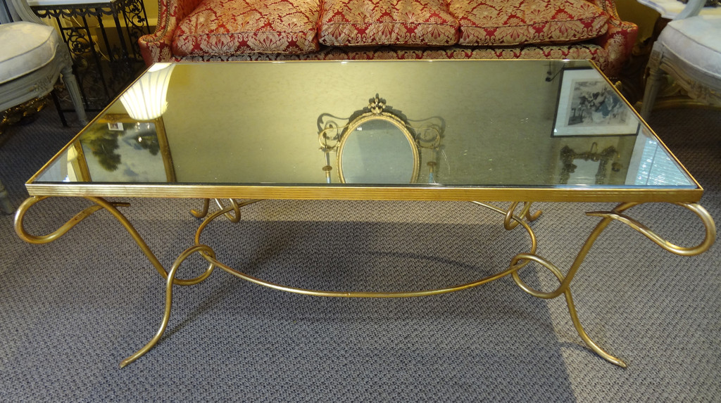 Rene' Drouet  Style Coffee Table