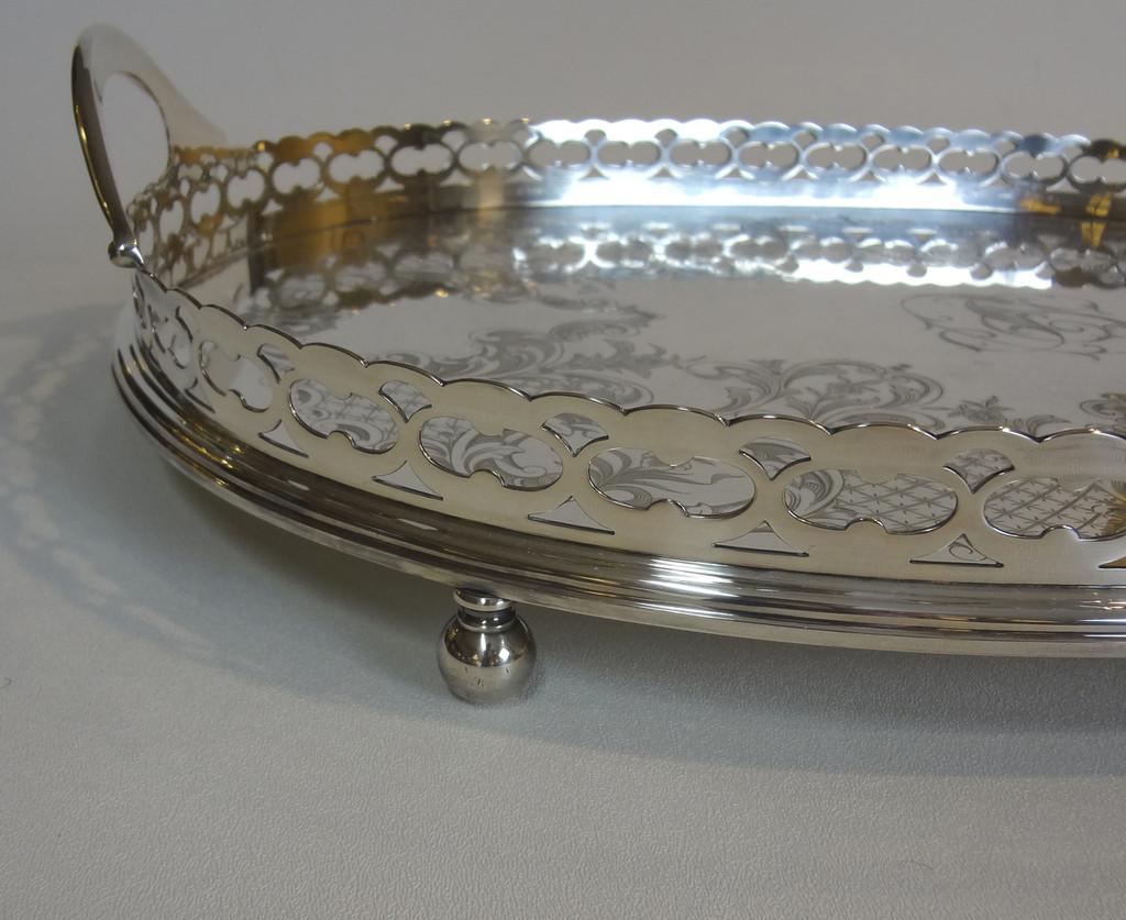 Gorham Silver Plate Tray