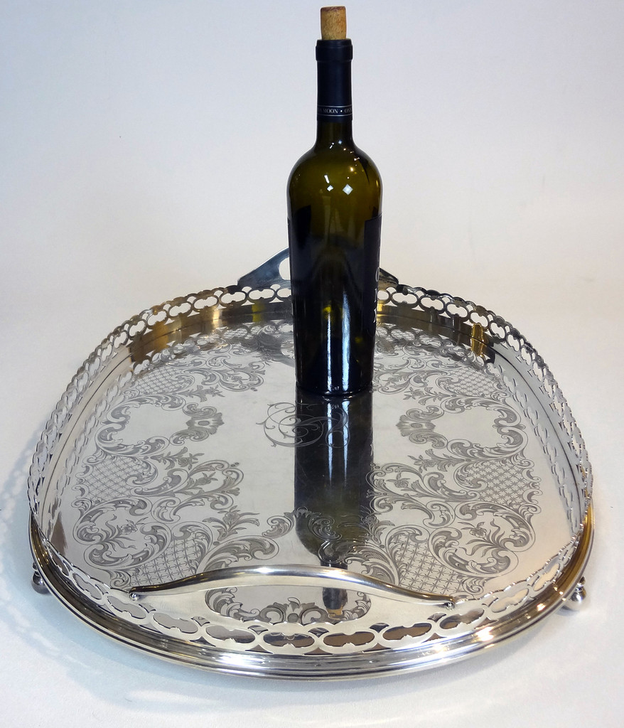 Large Gorham Silver Plate  Tray
