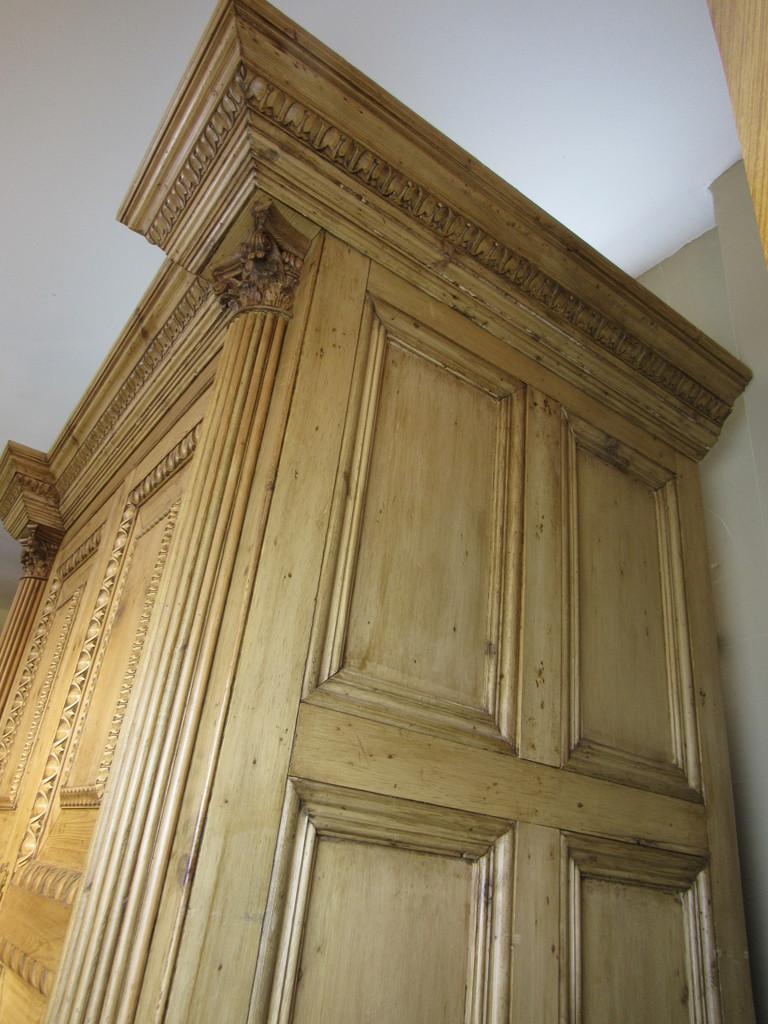 English Pine Cabinet