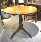 18th Century George III Tilt Top Tea Table