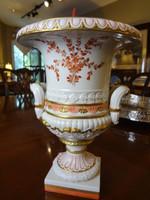 Ermete Agostinelli Porcelain Urn for Bonwit Teller