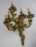 Beautiful Electrified Brass Wall Sconces