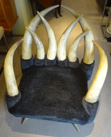 South Western Vintage Steer Horn Chair