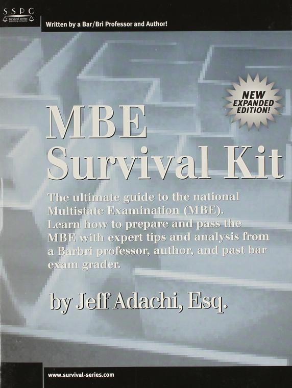ADACHI'S MBE SURVIVAL KIT  9781882278169