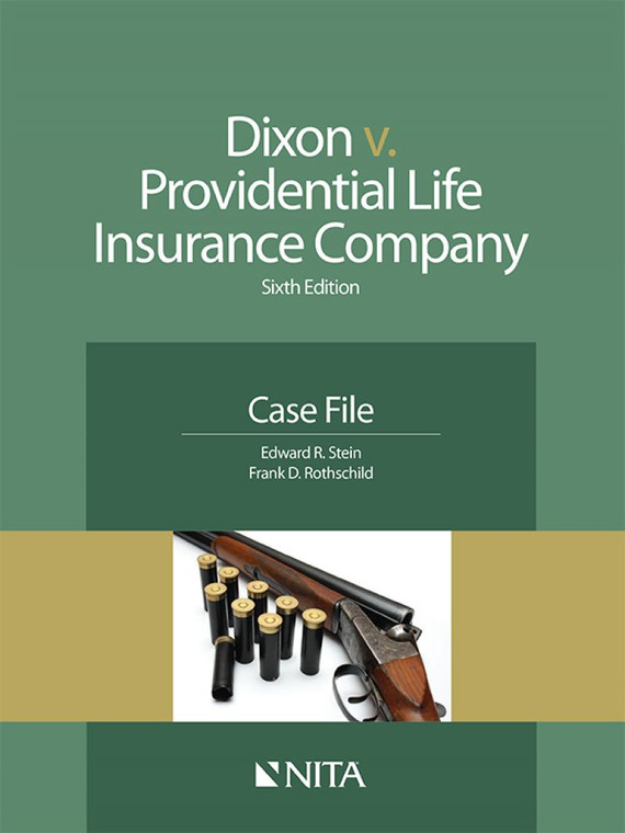 STEIN'S NITA DIXON V. PROVIDENTIAL LIFE (6TH, 2015) W/CD 9781601564344