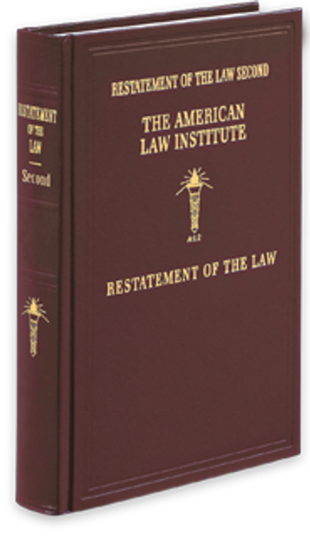 ALI RESTATEMENT OF THE LAW: CONTRACTS (2ND) [PAPERBACK SET] SPECIAL ORDER ITEM