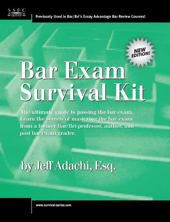 ADACHI'S BAR EXAM SURVIVAL KIT 2018
