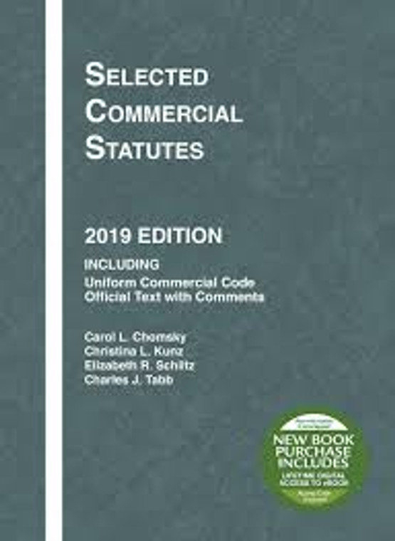 CHOMSKY'S SELECTED COMMERCIAL STATUTES (2019) 9781684670086