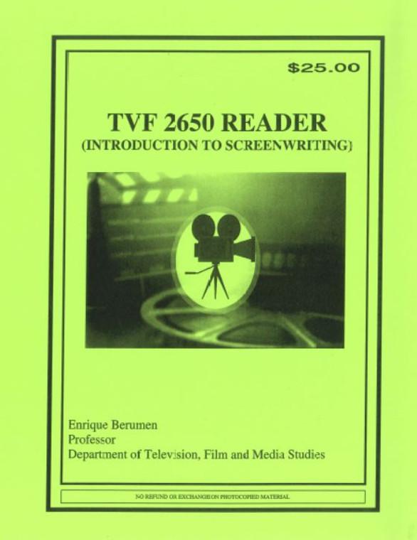 BERUMEN'S  TVF 2650 (SPRING 2020)