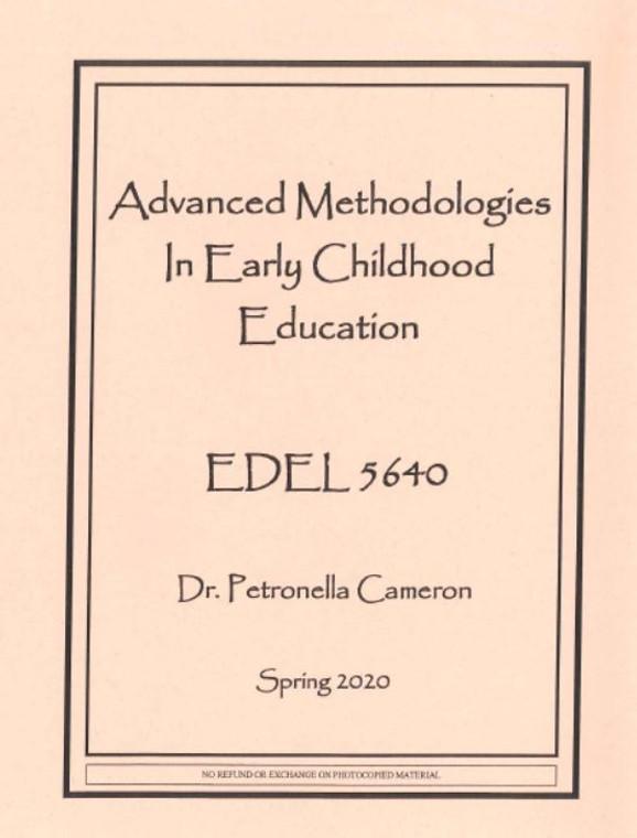 CAMERON'S EDEL 5640 (SPRING 2020)