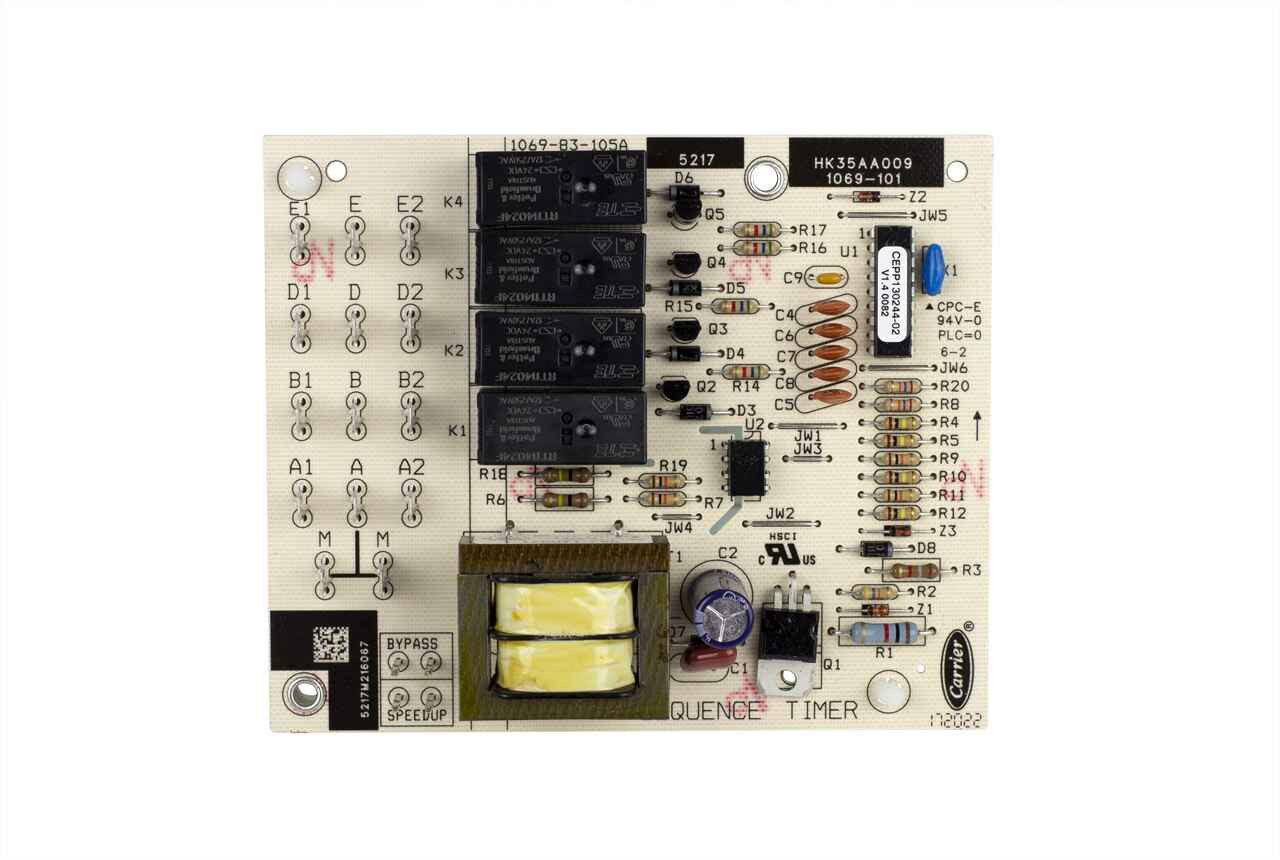 Carrier Hk35aa009 Multi Function Timer Board Technical Hot Cold
