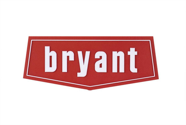 Carrier 333993-401 Nameplate - Bryant