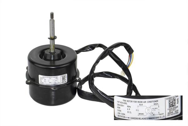 Carrier 11002012005429 Fan Motor
