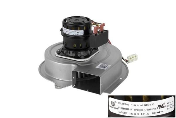 Goodman Amana 0131M00781PS Draft Inducer Motor Assembly w/ Capacitor