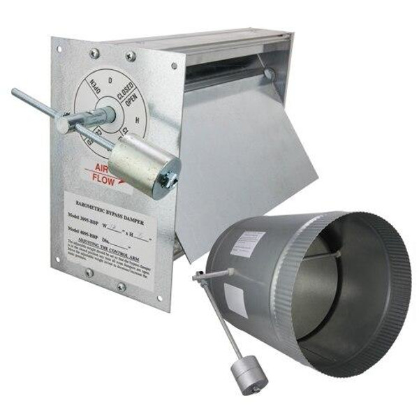 iO HVAC Controls BV-10 10 Vertical / Horizontal Barometric Bypass Damper