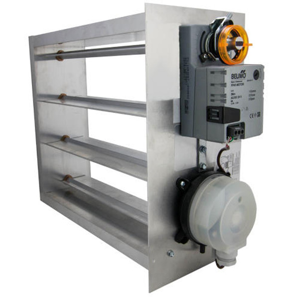 iO HVAC Controls EB-1608 Electronic 16 x 08 Bypass Damper