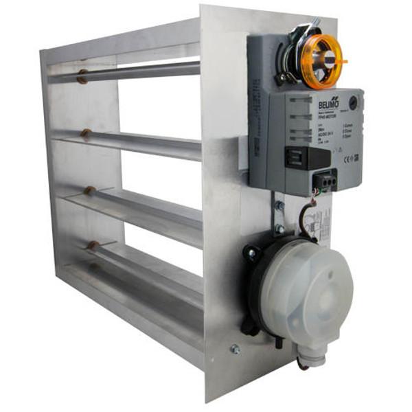 iO HVAC Controls EB-1808 Electronic 18 x 08 Bypass Damper