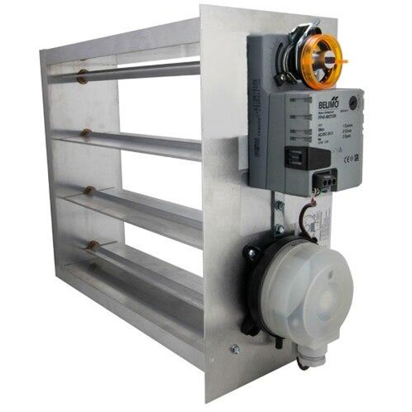 iO HVAC Controls EB-2010 Electronic 20 x 10 Bypass Damper
