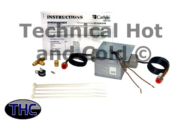 Carrier 30GT660018 Oil Pressure Safety Switch Kit