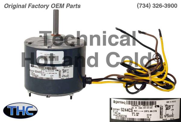 Carrier HC35GE235 Fan Motor