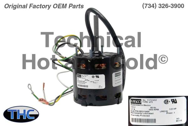 Lennox 27K58 Unit Heater Fan Blower Motor
