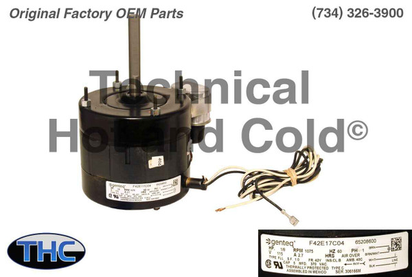 Lennox 34W65 Unit Heater Fan Blower Motor w/ Capacitor