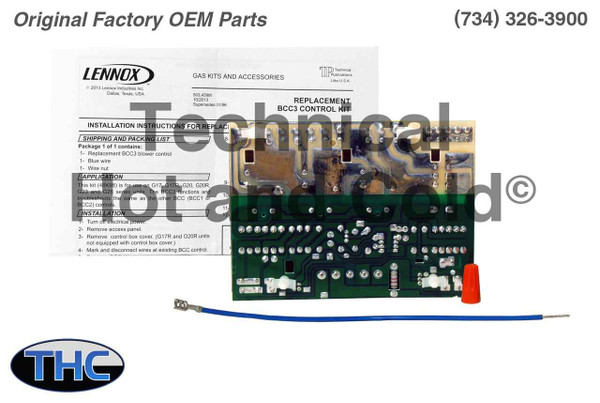 Lennox 48K98 Fan Blower Control Board