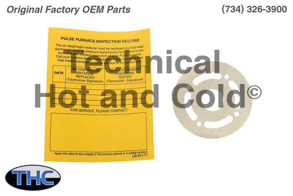 Lennox 64L80 Diaphragm Kit 10 pcs