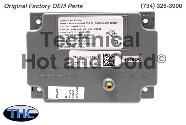Lennox 80K12 Ignition Control Module