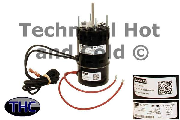 York Coleman S1-02424115018 Draft Inducer Motor