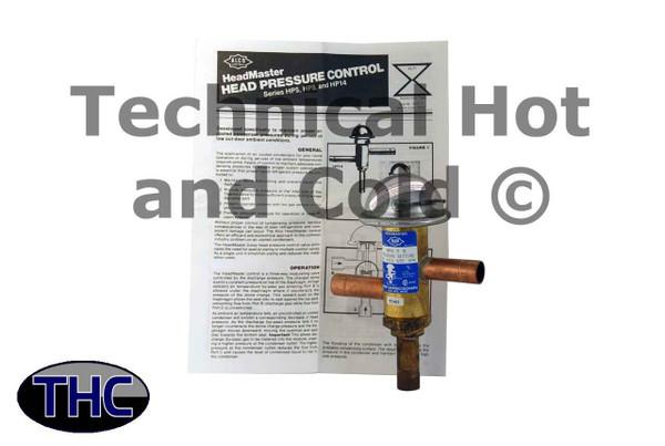 Alco Controls HP8T5-A Headmaster Pressure Regulator