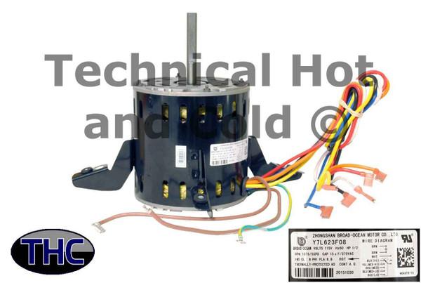 Carrier HC43TQ115 Blower Motor