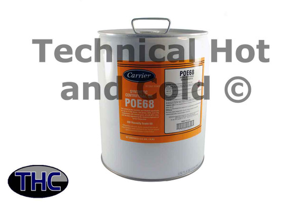 Carrier Industrial PP23BZ103005 Synthetic Centrifugal Oil