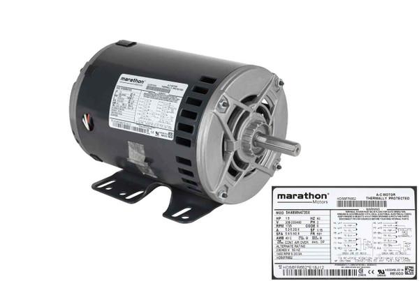 Carrier HD56FR652 Blower Motor
