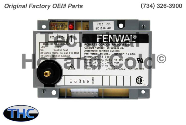 Roberts Gordon 90439500K Ignition Module Replacement Kit