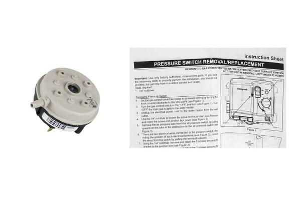 Lochinvar 100112658 Pressure Switch
