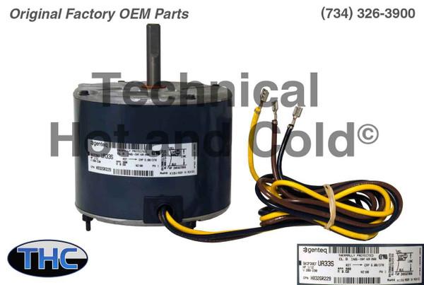 Carrier HB32GR229 Fan Motor