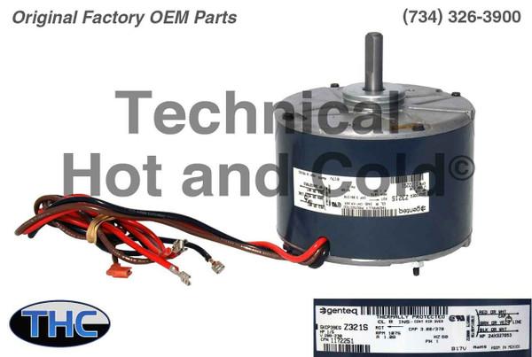 ICP 1172251 Fan Motor