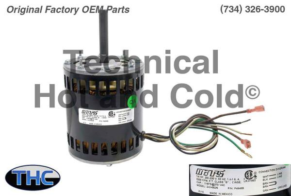 AAON P4848B Draft Inducer Motor